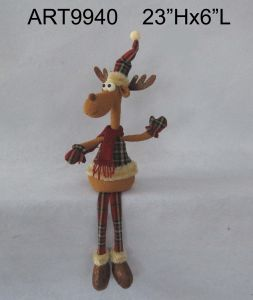 Christmas Decoration Dangle Legged Reindeer Woodland pictures & photos