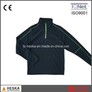 1/4 Zipper Mens Outdoor Coat Light Cheap Sweat Fleece Jacket pictures & photos