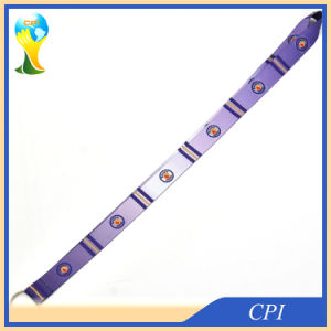 Fantacy Gradient Purple Lanyard with Key Ring pictures & photos