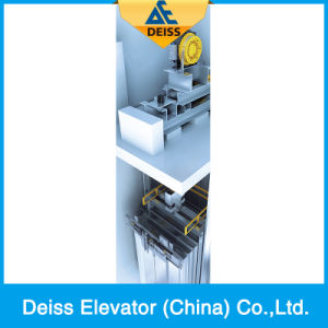 Deiss Stable Ti-Plated Smooth Running Passenger Lift From China Manufacture pictures & photos