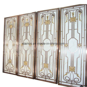 Construction Building Aluminum Dubai Room Divider Screen Metal Work Project pictures & photos