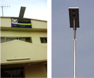 30W All-in-One Solar Street Light with Remote Control pictures & photos