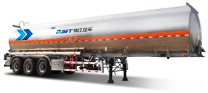 42m3 3 Axles Flammable Liquid Tank Semi Trailer pictures & photos