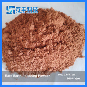 Red Polishing Powder About Particle Size 0.6um pictures & photos