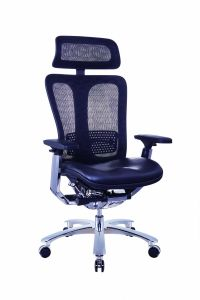 High End Leather Seat 300lb Office Director Chair pictures & photos