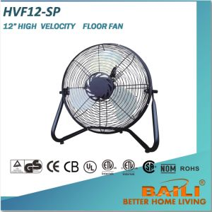 "Good Sales 12"" High Velocity Floor Fan pictures & photos"