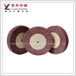 Wooden/ Metal Surface Drawing Satin Non Woven Flap Wheels pictures & photos