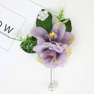 Hot Sale Flower Brooch Jewelry for Wedding pictures & photos