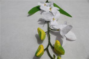 Cheap Plastic Artificial Flower Phaleanopsis Wholesale Artificial Wedding Decoration Flowers pictures & photos