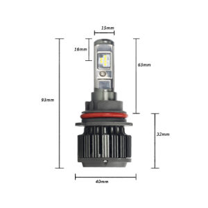 High Quality Philips Chip T6 9004/9007 40W 3800lm LED Auto Lamp pictures & photos