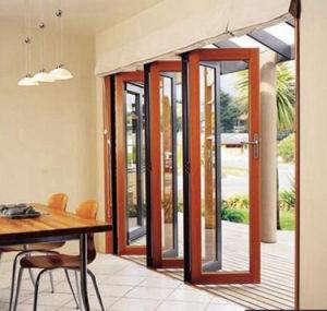 Aluminum Bi-Folding Door/Aluminium Folding Door/Multi-Leaf Door pictures & photos