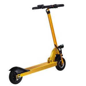 Portable 15.6A Two Wheels Electric Folding Kick Scooter pictures & photos