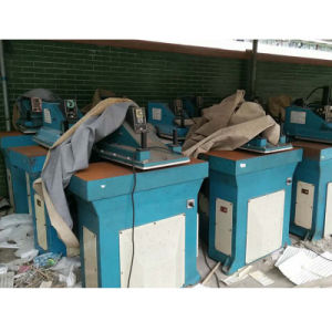 Used Tai Wan Ying Hui Swing Are Shoe Making Leather Rubber Cutting Machine pictures & photos