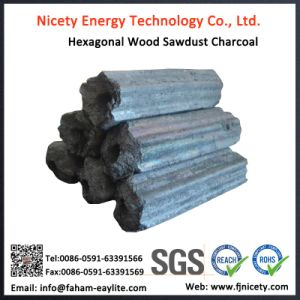 Chinese Original Machine-Made Hexagon Charcoal Price Per Ton of Charcoal pictures & photos