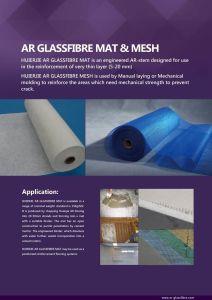 Good Quality Alkali-Resistant (AR) Fiberglass Mat pictures & photos