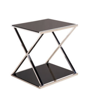 Home Office Display Showing Shelf Tempered Glass Table Modern Design Furniture