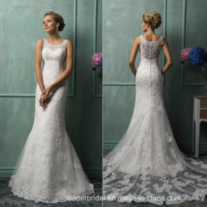 Lace Wedding Dress Mermaid Customized Bridal Wedding Gown W52219 pictures & photos