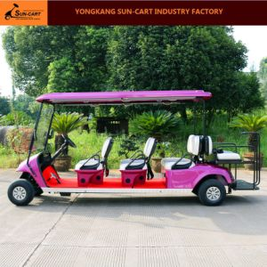 8 Seats Customized Electric Golf Cart (Rear flip seats) pictures & photos