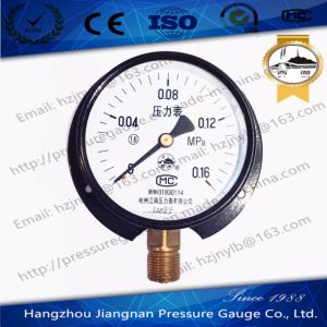 0.16MPa General Pressure Gauge with Flange Back pictures & photos