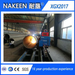 CNC Steel Pipe Plasma Cutting Machine of Five Axis pictures & photos