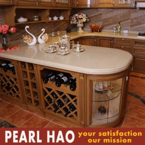 North American Customized Design Solid Wood Kitchen Cabinet pictures & photos