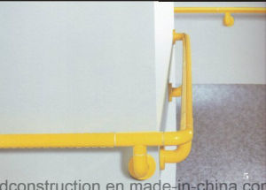 Anti-Slip Nylon Handicapped Corridor Grab Rails Handrail