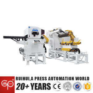 Strip Coil Nc Servo Feeder with Uncoiler and Straightener (MAC4-1600) pictures & photos