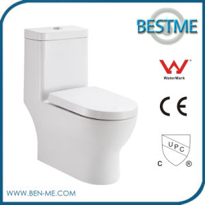 Siphonic Ceramic One Piece Toilet with New Flushing Method pictures & photos
