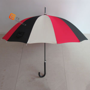 "21.5""*14k Straight Umbrella, Black Meatl Frame (YSS0002) pictures & photos"