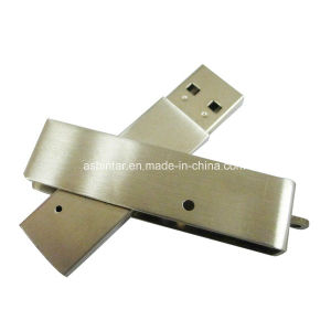 Metal USB Pendrive Stick Swivel USB Flash Drive pictures & photos