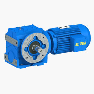 Solid Shaft Helical-Worm Gear Motor pictures & photos