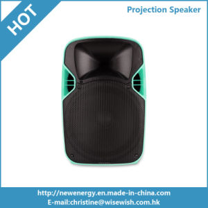 12 Inches PA System Audio Speaker with Projector and Screen