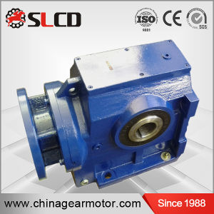 S Series High Efficiency Hollow Shaft Helical Worm Motorreducer pictures & photos