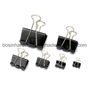 Medium Metal Black Binder Clips Wholesale pictures & photos