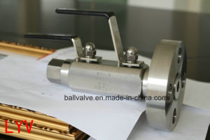 Double Block and Bleed Ball Valve Dbb Stainless Steel Ball Valve pictures & photos