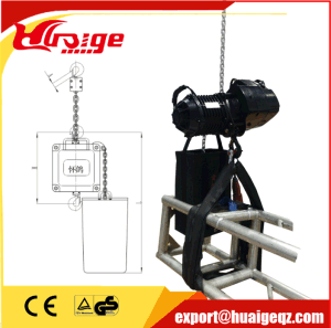 1ton Professional Inverted Motor Stage Hoist for Aluminium Russ pictures & photos