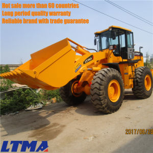 5 Ton Wheel Front End Loader with Single Z Arm pictures & photos