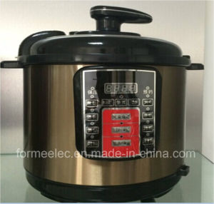 5L Cyliner Rice Cooker 900W Electric Pressure Cooker pictures & photos