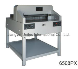 New Arrival Product Program-Controlled Paper Cutter Guillotine Machine 6508px