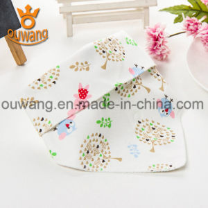 Personalized Customized Seamless Baby Bandana Drool Bibs for Kids pictures & photos