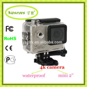 WiFi Video Camera 4k Sport Cam DV with Waterproof Case pictures & photos