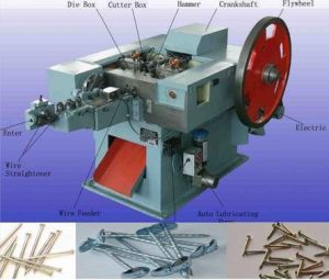 Automatic Nail Making Machine Nail Maker pictures & photos