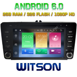 Witson Eight Core Android 6.0 Car DVD for Skoda Octavia pictures & photos