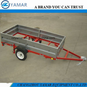 4FT. X 8FT. Folding Trailer with Side Panels pictures & photos