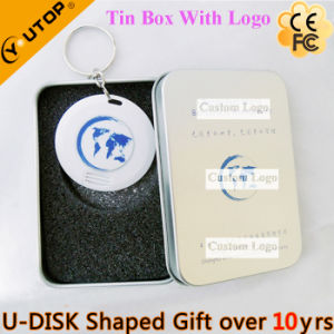 Mini Round Card USB Flash Drive as Smart Gift (YT-3108) pictures & photos