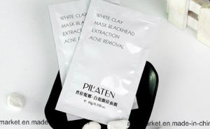 Pilaten White Clay Mask Deep Pore Cleanser Nose Care Mud Mask PEE off Face Mask 10g pictures & photos