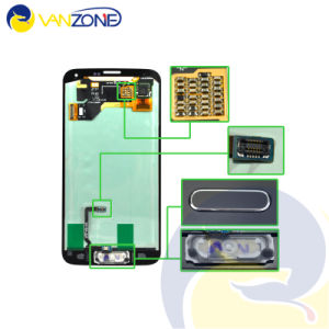 LCD Screen for Samsung S5 I9600 LCD Display with Home Button Touch Screen Digitizer G9001 G900r G900f pictures & photos