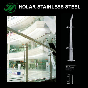 Inox Handrail Balustrade for Staircase pictures & photos