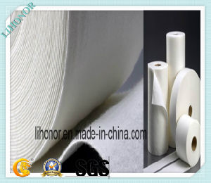 Needle Punched White Nonwoven Fabric pictures & photos