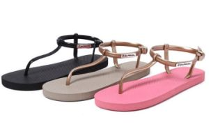 New Style Women Greek Thong Sandals pictures & photos